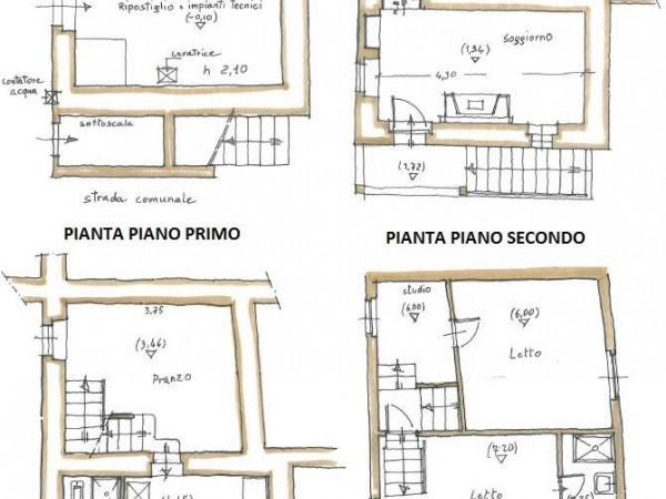 Appartamento in vendita a todi todi frazione con for Giardino 100 mq