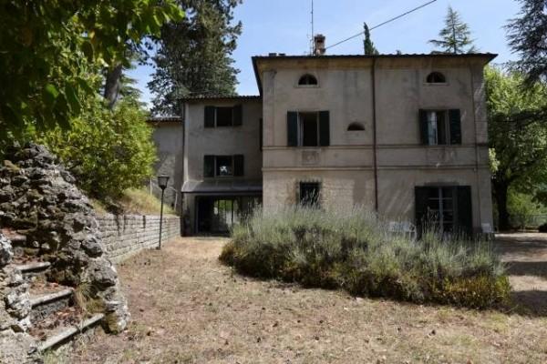 Villa in affitto a citt di castello belvedere con for Case in affitto con cantina
