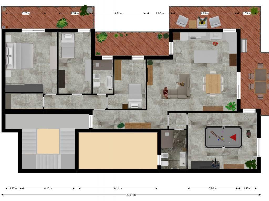 vendita attico mansarda in lecce rif. bc00109620
