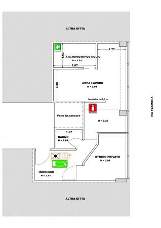 Ufficio in affitto a Spoleto, Centro, 38 mq.