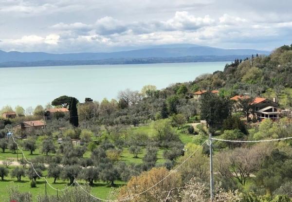 Villa in vendita a Passignano sul Trasimeno, San Donato, 268 mq.
