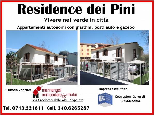 Villetta a schiera a Spoleto - Via Flaminia Nuova Costruzione