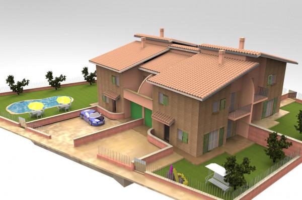 Villa in vendita a Deruta, Deruta, 150 mq. img